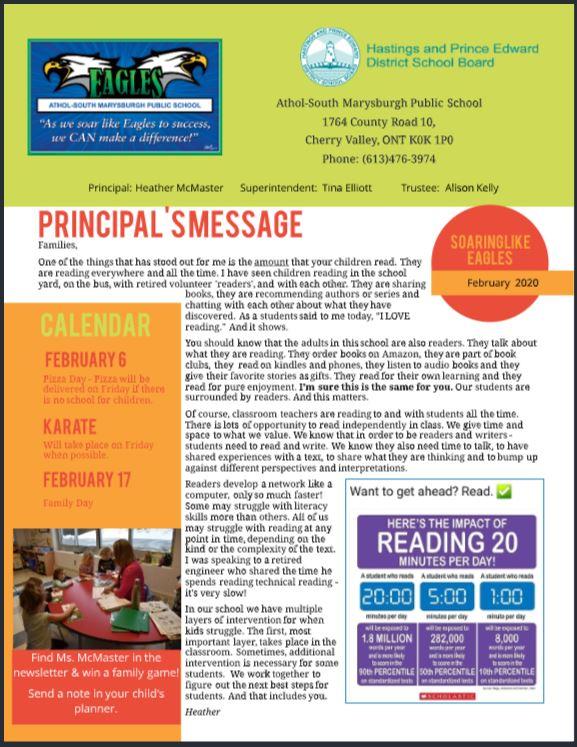 February Newsletter 2020 Image